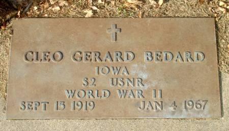 BEDARD, CLEO GERARD - Black Hawk County, Iowa | CLEO GERARD BEDARD