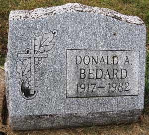 BEDARD, DONALD A. - Black Hawk County, Iowa | DONALD A. BEDARD