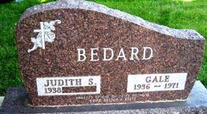 BEDARD, GALE - Black Hawk County, Iowa   GALE BEDARD