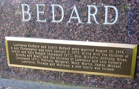 BEDARD, GALE - Black Hawk County, Iowa | GALE BEDARD