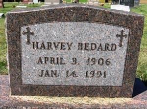 BEDARD, HARVEY - Black Hawk County, Iowa | HARVEY BEDARD