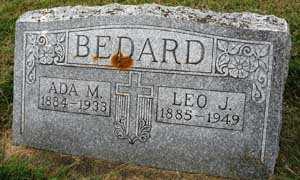 BEDARD, ADA M. - Black Hawk County, Iowa | ADA M. BEDARD