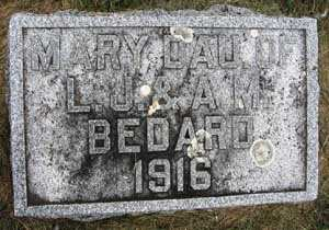 BEDARD, MARY - Black Hawk County, Iowa   MARY BEDARD