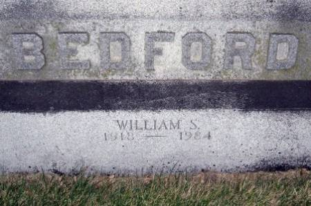 BEDFORD, WILLIAM S. - Black Hawk County, Iowa | WILLIAM S. BEDFORD