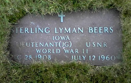 BEERS, STERLING LYMAN - Black Hawk County, Iowa | STERLING LYMAN BEERS