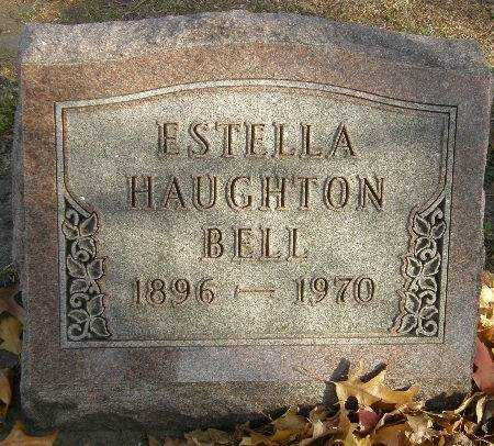 HAUGHTON BELL, ESTELLA - Black Hawk County, Iowa | ESTELLA HAUGHTON BELL