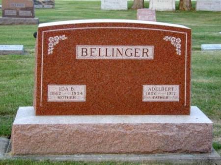 BELLINGER, ADELBERT - Black Hawk County, Iowa | ADELBERT BELLINGER