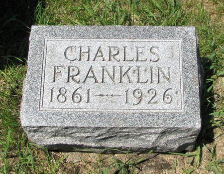 BENNETT, CHARLES FRANKLIN - Black Hawk County, Iowa   CHARLES FRANKLIN BENNETT