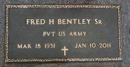 BENTLEY, SR., FRED H. - Black Hawk County, Iowa   FRED H. BENTLEY, SR.