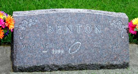 BENTON, MARGARET I. - Black Hawk County, Iowa | MARGARET I. BENTON