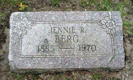 BERG, JENNIE R. - Black Hawk County, Iowa | JENNIE R. BERG