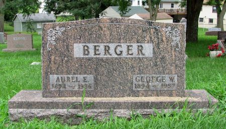 BERGER, AUREL E. - Black Hawk County, Iowa | AUREL E. BERGER