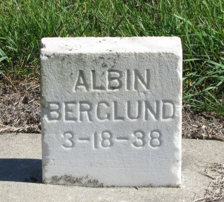 BERGLUND, ALBIN - Black Hawk County, Iowa   ALBIN BERGLUND