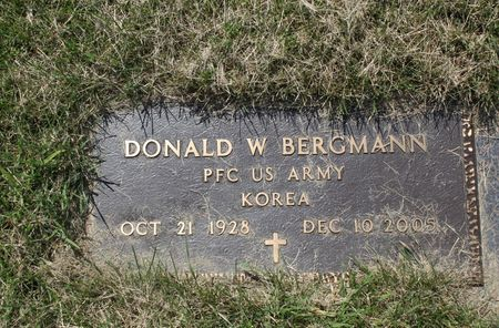 BERGMANN, DONALD W. - Black Hawk County, Iowa | DONALD W. BERGMANN