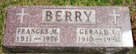 BERRY, FRANCES M. - Black Hawk County, Iowa   FRANCES M. BERRY