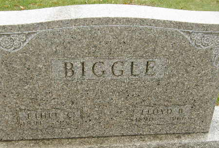 BIGGLE, LLOYD B. - Black Hawk County, Iowa | LLOYD B. BIGGLE