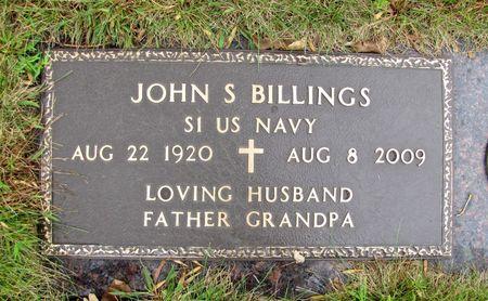 BILLINGS, JOHN S. - Black Hawk County, Iowa   JOHN S. BILLINGS