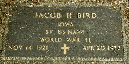 BIRD, JACOB H. - Black Hawk County, Iowa | JACOB H. BIRD