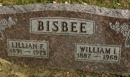 BISBEE, LILLIAN F. - Black Hawk County, Iowa | LILLIAN F. BISBEE