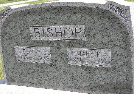 BISHOP, GEORGE P. - Black Hawk County, Iowa | GEORGE P. BISHOP