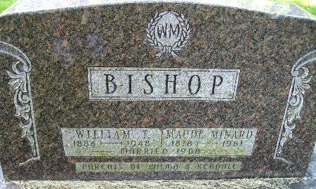 BISHOP, WILLIAM T. - Black Hawk County, Iowa | WILLIAM T. BISHOP