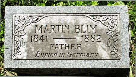 BLIM, MARTIN - Black Hawk County, Iowa | MARTIN BLIM