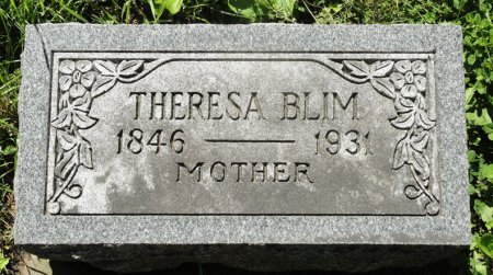 BLIM, THERESA - Black Hawk County, Iowa | THERESA BLIM