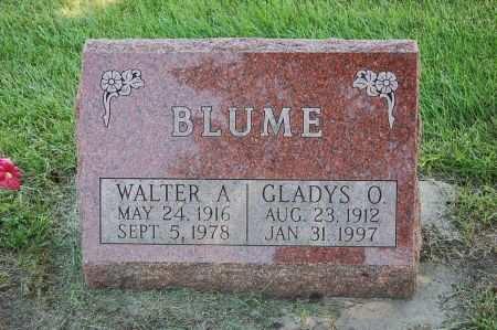 BLUME, GLADYS O. - Black Hawk County, Iowa | GLADYS O. BLUME