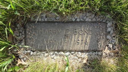 BOND, HARRY - Black Hawk County, Iowa | HARRY BOND