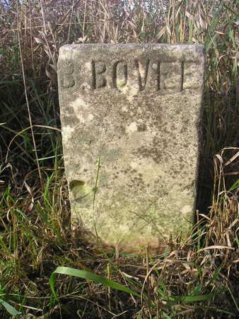 BOVEE, B - Black Hawk County, Iowa   B BOVEE