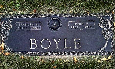 BOYLE, FRANCES N. - Black Hawk County, Iowa | FRANCES N. BOYLE