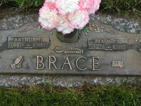 MILLER BRACE, MAYME - Black Hawk County, Iowa | MAYME MILLER BRACE