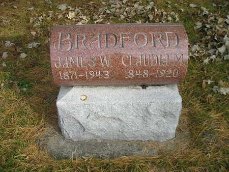 BRADFORD, CLAUDIA M - Black Hawk County, Iowa | CLAUDIA M BRADFORD