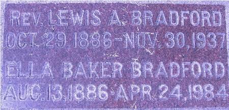 BAKER BRADFORD, ELLA - Black Hawk County, Iowa   ELLA BAKER BRADFORD