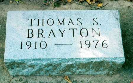 BRAYTON, THOMAS S. - Black Hawk County, Iowa | THOMAS S. BRAYTON