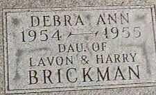 BRICKMAN, DEBRA ANN - Black Hawk County, Iowa   DEBRA ANN BRICKMAN