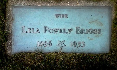 POWERS BRIGGS, LELA - Black Hawk County, Iowa | LELA POWERS BRIGGS