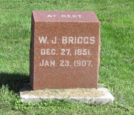 BRIGGS, W. J. - Black Hawk County, Iowa | W. J. BRIGGS