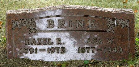 BRINK, HAZEL R. - Black Hawk County, Iowa   HAZEL R. BRINK