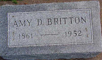 BRITTON, AMY D. - Black Hawk County, Iowa   AMY D. BRITTON