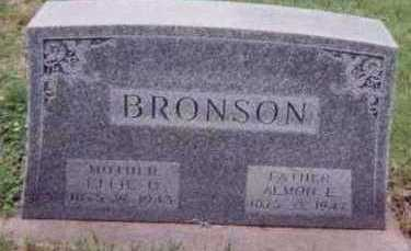BRONSON, EFFIE U. - Black Hawk County, Iowa   EFFIE U. BRONSON