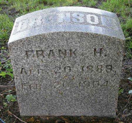 BRONSON, FRANK H. - Black Hawk County, Iowa | FRANK H. BRONSON