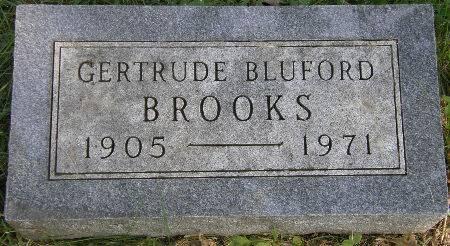 BROOKS, GERTRUDE - Black Hawk County, Iowa | GERTRUDE BROOKS