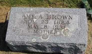 BROWN, AMY A. - Black Hawk County, Iowa   AMY A. BROWN