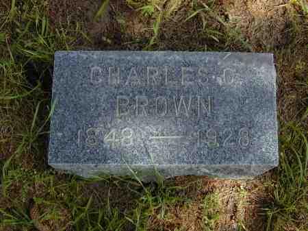 BROWN, CHARLES C. - Black Hawk County, Iowa   CHARLES C. BROWN