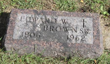 BROWN, EDWARD W - Black Hawk County, Iowa | EDWARD W BROWN