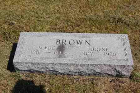 BROWN, MABEL - Black Hawk County, Iowa | MABEL BROWN