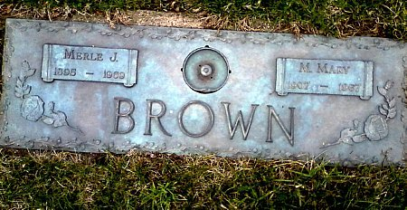 BROWN, MERLE J. - Black Hawk County, Iowa | MERLE J. BROWN