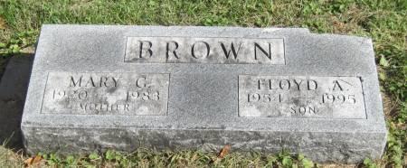 BROWN, FLOYD A. - Black Hawk County, Iowa | FLOYD A. BROWN