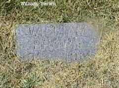 BROWN, WILLIAM - Black Hawk County, Iowa | WILLIAM BROWN